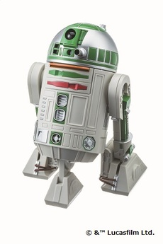STAR WARS R2-711 Action Alarm Clock