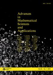 Advances on Mathematical Sciences and Applications Vol. 20. No. 1  (2010)