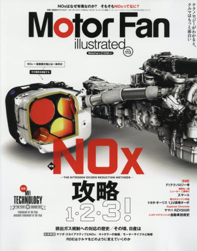 Motor Fan illustrated 113