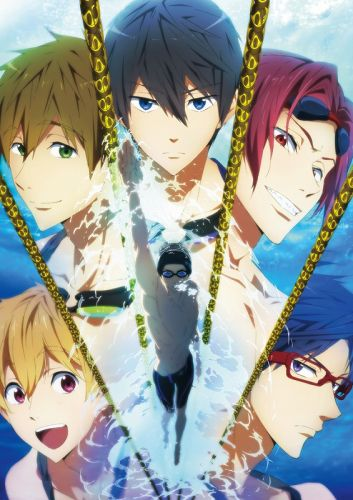 Anime<br>Free! 1<br>(Blu-ray Disc)